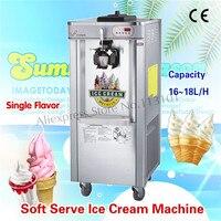Assoalho de aço inoxidável da máquina 220 v do gelado que está o único sabor para a oferta especial das salas de jantar
