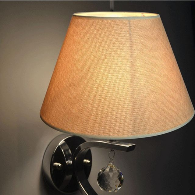 Fabric Table Light Lamp Shades Shade Cotton Textured Pvc Linen Home Room Modern Cover