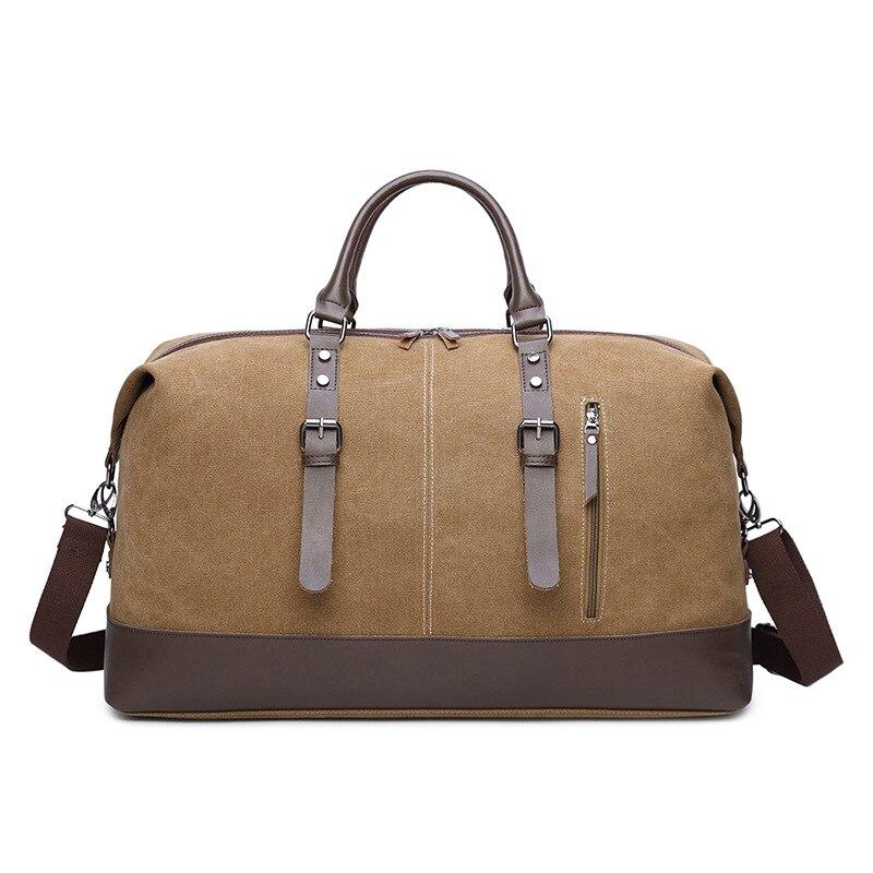 Travel Bag Canvas Large-capacity Business Travel  Bag Good Quality Wear-resistant Shoulder Handbag Messenger Bag For Men