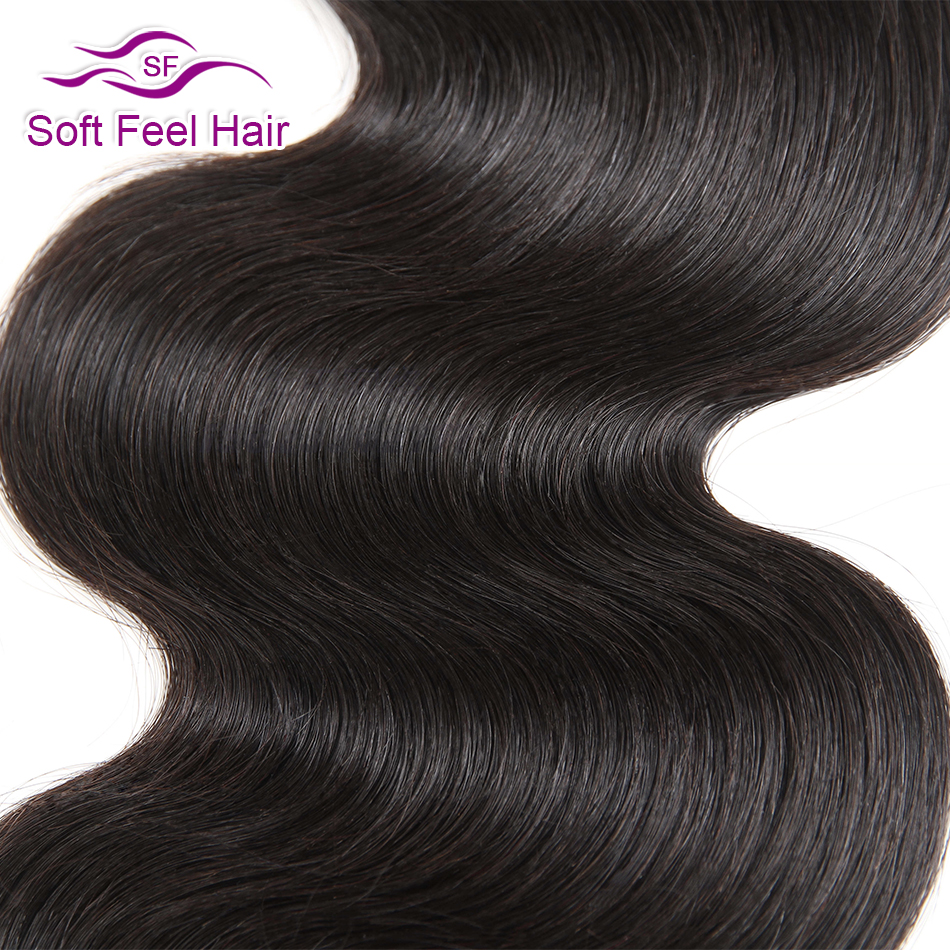 Brazilian Hair Human Hair Weave Bundles Extensions Natural Colour