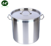 free shipping 50litre water bucket large barrel stainless steel thicking pot 40cm