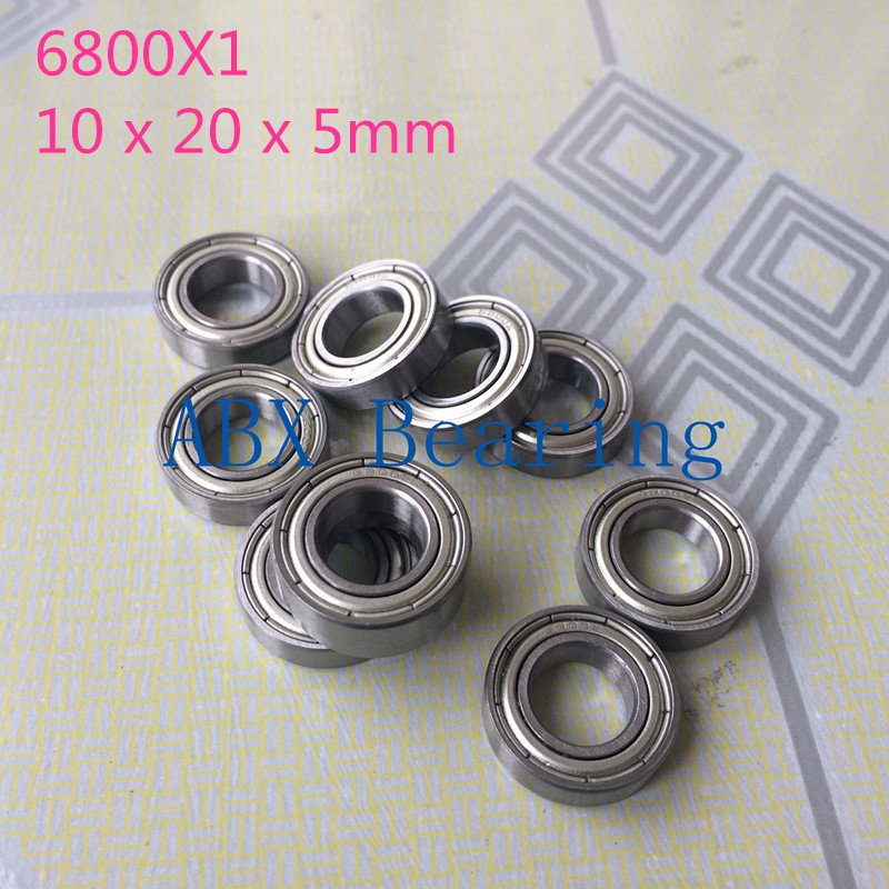 6800X1 MR2010ZZ 10205 Bicycle Non-standard Special Ball Bearings The Size Is 10*20*5 6800ZZ 10x20x5 10x20x6 10206