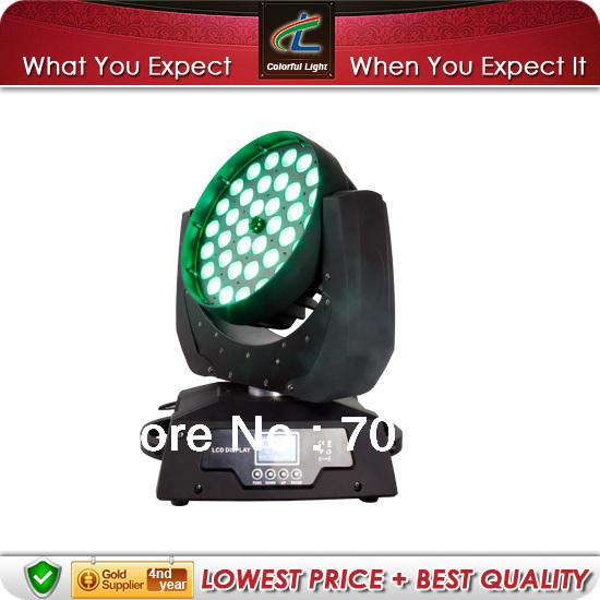 Russian Federation 36*10W Wash 4 in 1 Zoom LED Moving Head