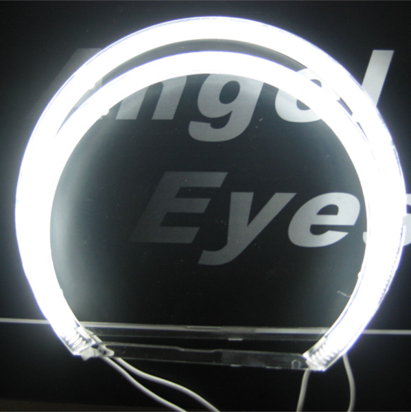 Car light LED headlight CCFL Angel Eyes for BMW E46 no projector LED CCFL Halo Rings For BMW E46 NON projector 2*146MM+2*131MM free shipping ccfl angel eyes halo rings car light headlight kits for bmw e46 compact super bright ccfl car lighting