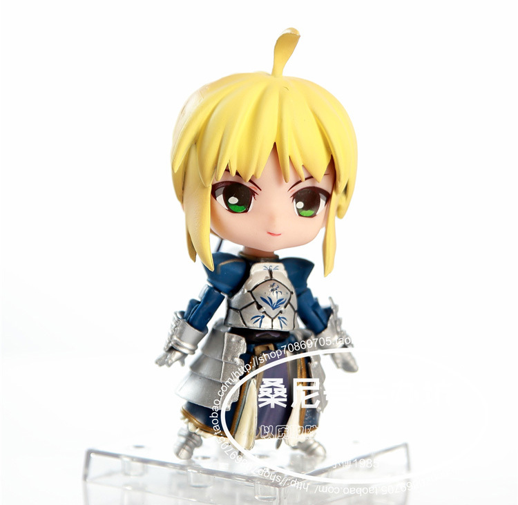 """Classic Anime Game Fate Stay Night Saber Super Movable Edition 121 # 4"""" Action Figure 2"""