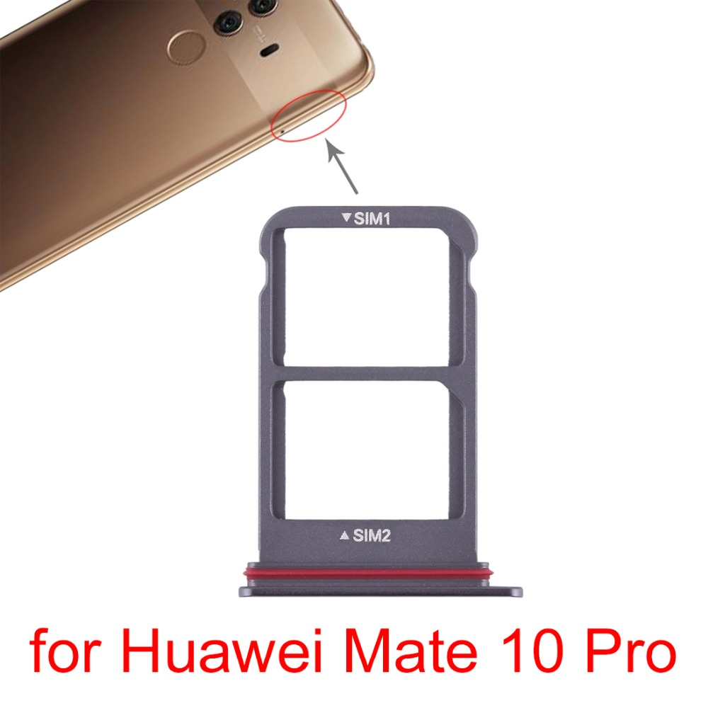 honor 10 carte sd SIM Card Tray+SIM Card Tray for Huawei Mate 10 ProP9 LiteP20 Pro