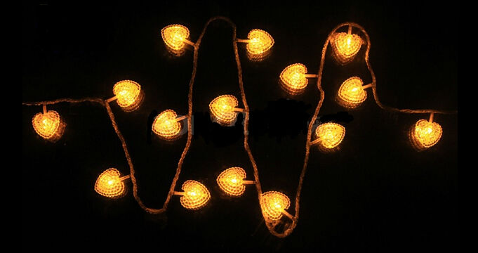 Hot Selling 220V Led Fairy Lights 10m 100 led Heart love String lights Decoration For Wedding Decoration Christmas Xmas Holiday