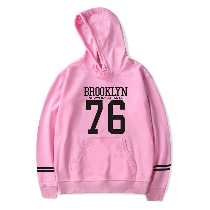 BROOKLYN 76 Hoodies Sweatshirts Fashion Cool Hip Hop Men Women Hooded Pullover Long Sleeve Unisex Harajuku Hoodie Tracksuit Tops