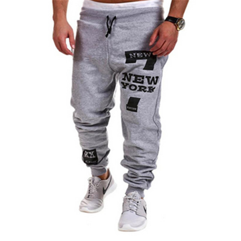 2017 Fashion Outdoors Cargo Loose Trousers Men Sweat Leisure Joggers Pants Slim Fit Sweatpants for Dance Leisure Pants