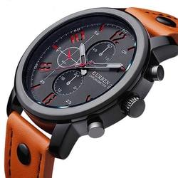 Curren men s sports quartz watches mens watches top brand luxury leather wristwatches relogio masculino men.jpg 250x250
