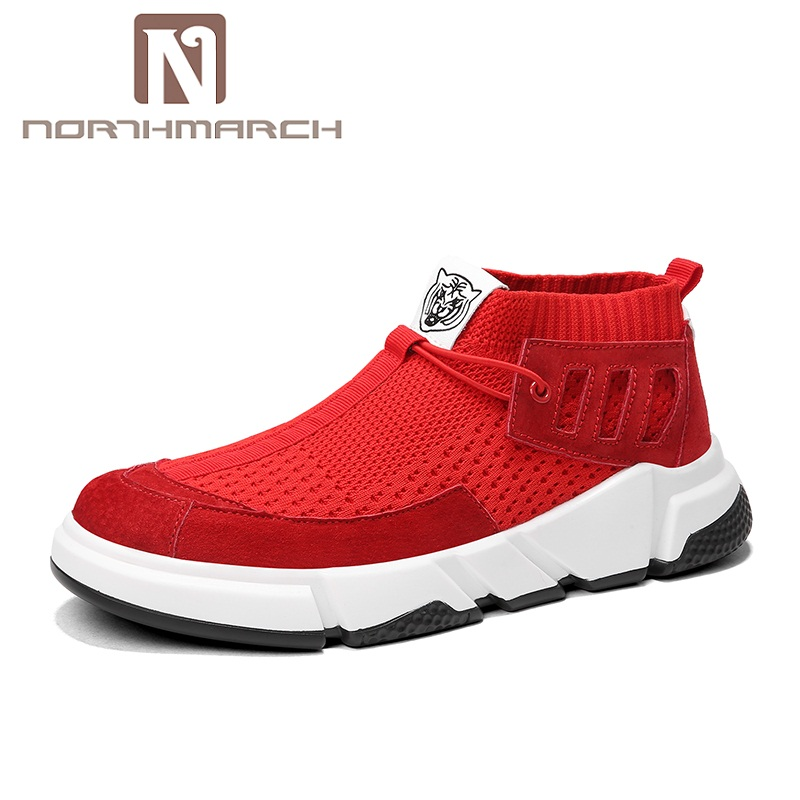 NORTHMARCH Man Shoes Summer 2018 New Arrivals Mens Trainers Designer Sneakers Breathable Shoes Footwear Zapatillas Deportivas цены онлайн