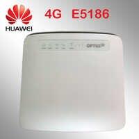 Odblokowany router 4g huawei E5186 E5186s-22a 4g 300 mb/s LTE wireless 12 v router 4g adapter wifi Cat6 mobilny punkt aktywny cpe samochodu router