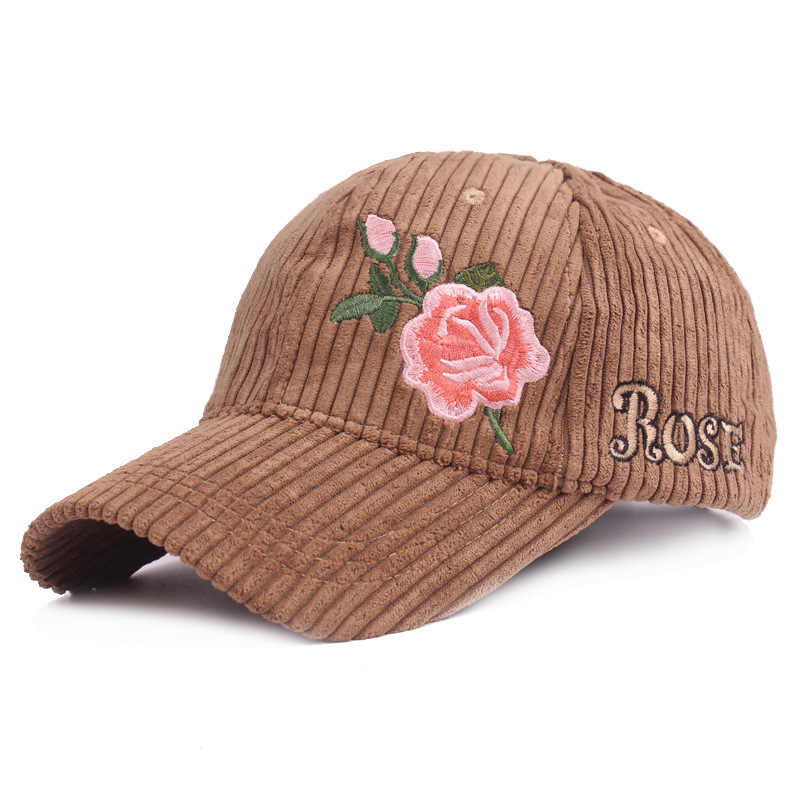 d29d5ed5ec82b Detail Feedback Questions about New Fashion Embroidery Rose Caps ...