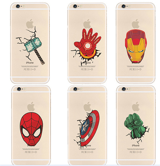custodia iphone 6s marvel