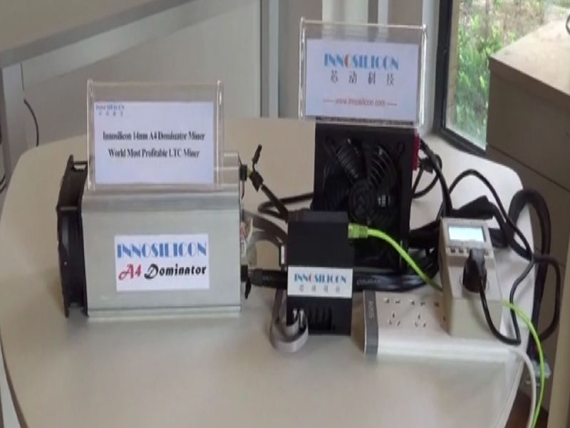 LTC MINER used Innosilicon A4 Dominator 138M Litecoin miner 14nm SCRYPT Miner ASICMINER Low power better than A2 110m