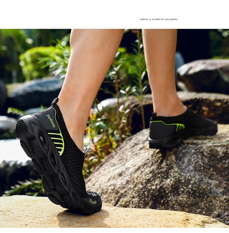 HTB1eGwINYrpK1RjSZTEq6AWAVXab Men Casual Shoes Sneakers Fashion Light Breathable Summer Sandals Outdoor Beach Vacation Mesh Shoes Zapatos De Hombre Men Shoes