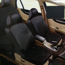 Carnong yüksek kaliteli deri araba klozet kapağı özel uygun için uygun orijinal araba koltuğu aynı yapısı 7 kişilik klozet kapağı