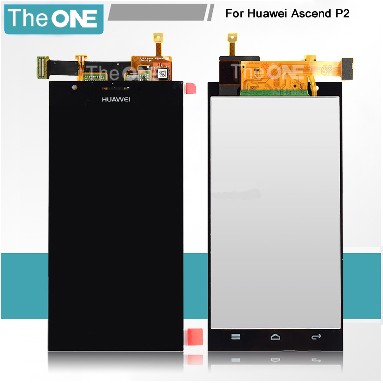 For Huawei Ascend P2 black LCD screen display with touch screen digitizer assembly