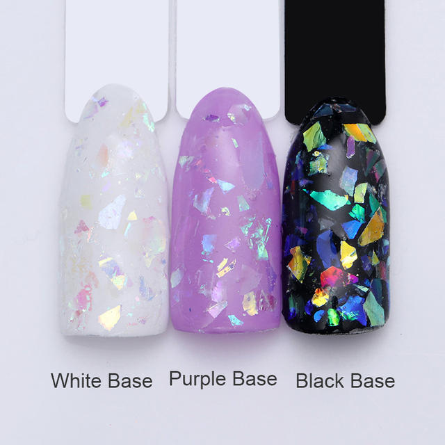 1g Candy Colorful Irregular Nail Sequins Flakes Class Paper Paillette Manicure Nail Art DIY Design Decoration Accessory