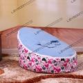 FRETE GRÁTIS tampa de assento do bebê com 2 pcs azul para cima da tampa do bebê sacos de feijão tampa do saco de feijão do bebê assento do saco de feijão do bebê à prova d' água cadeira