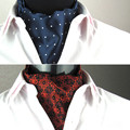Hot Sale Men Korean Silk Cravat Printed New Style Casual Ties High Quality Male Silk Great Valentine's Day Gift lxy484