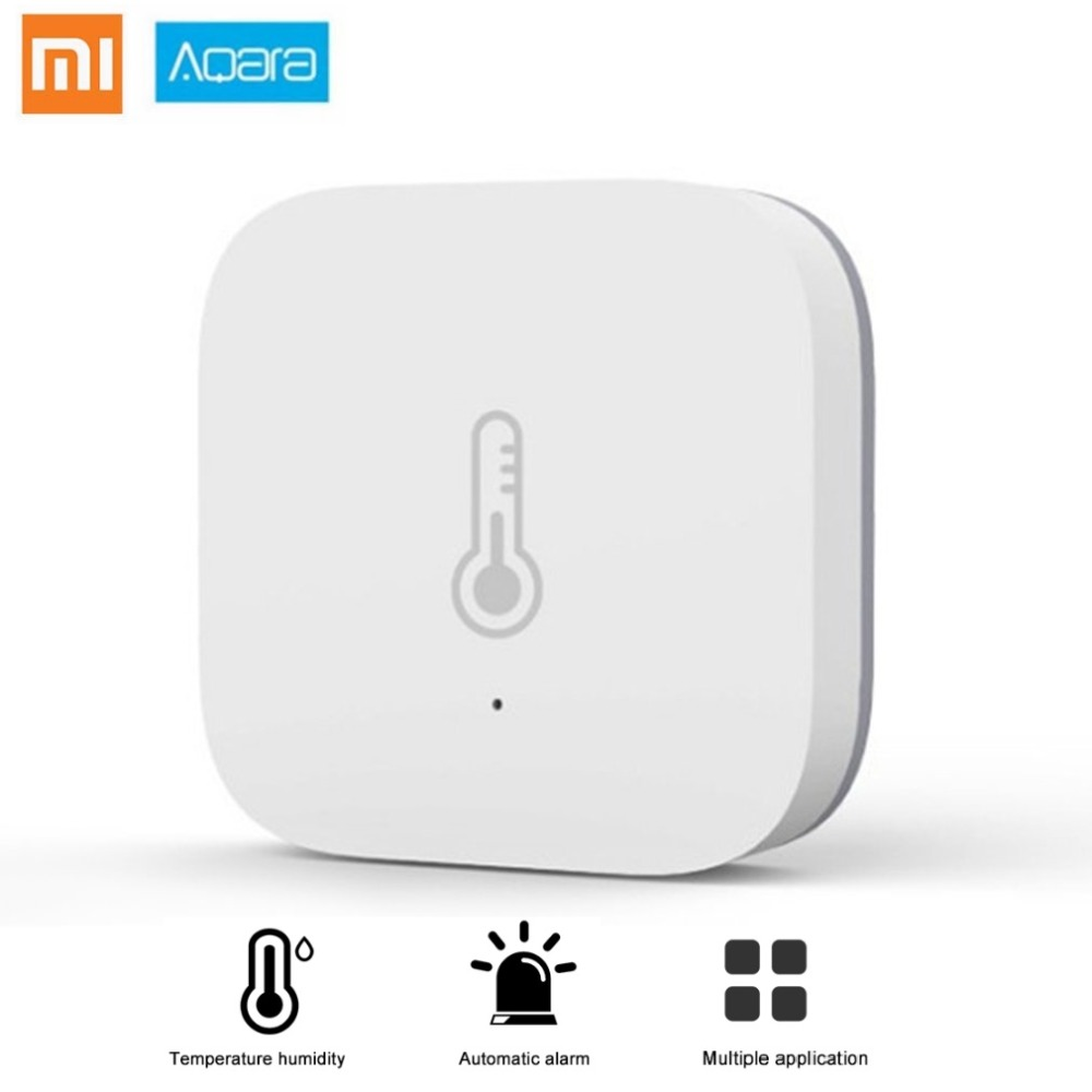все цены на Xiaomi Aqara Air Pressure Temperature Humidity Environment Sensor Support Android IOS APP Smart Home Wireless Control