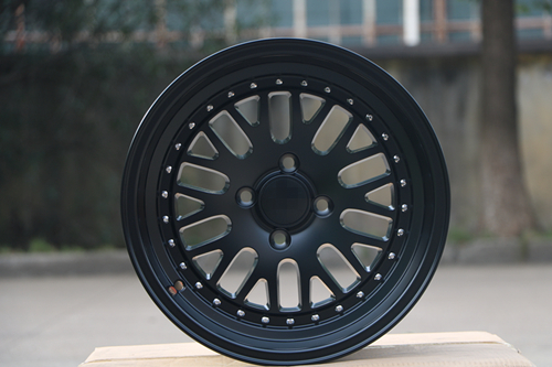 4 New Satin Black 15x8.0 Rims wheels et 0mm CB 73.1mm Alloy Wheel Rims W310