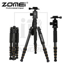Zomei Z699C Professional Carbon Fiber Tripod Kit For Travel DSLR Camera Monopod Stand Ballhead Compact Portable 1.476kg weight