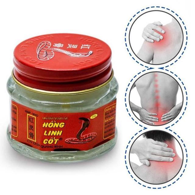 1pcs 100% Original Vietnam White Snake Balm Ointment Arthritis Painkiller Cream Body Muscle Fatigue Star Balm