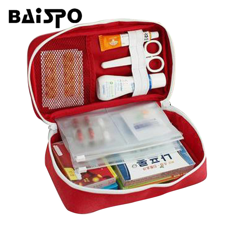 First aid kit portable medical medicine emergency medical outdoor travel quality safe storage bag high quality safe