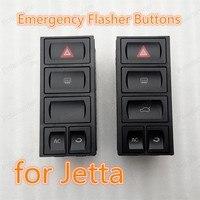 100% New Hazard Warning Light Button Emergency Flasher Buttons 1GD953529g 03-09 for J/etta