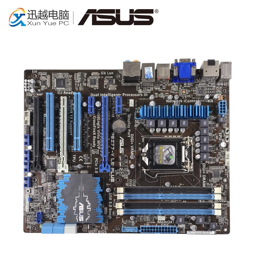 все цены на Asus P8Z77-V LE PLUS Desktop Motherboard Z77 Socket LGA 1155 i3 i5 i7 DDR3 32G SATA3 USB3.0 ATX