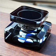 car decoration perfume bottle seat Car Air Freshener Automobiles Perfume Crystal Material Capacity 30 ml size 80*80*6mm