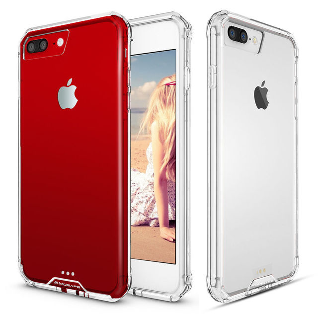 SuaGet For iPhone 7 8 Full Protective Shockproof Arcylic Ultra Slim Hybrid 7 Case