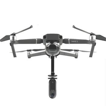 Панорамная спортивная камера Gopro с вращением 360 градусов, VR держатель, подвесной кронштейн, фиксированный зажим, адаптер для DJI Mavic 2 Pro/Zoom