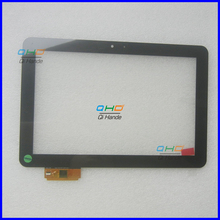 "Black New 10.1"" Inch Touch Screen for PRESTIGIO MultiPad PMP7100D3G DUO Digitizer glass Sensor a11020a10089_v03 A1WAN06"