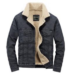 men winter denim jacket 2