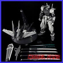 แฟนรุ่น in stock Nillson pg 1/60 Gundam seed Astray สีแดงกรอบ wing ไม่มีสีรุ่น assembly action figure ของเล่น