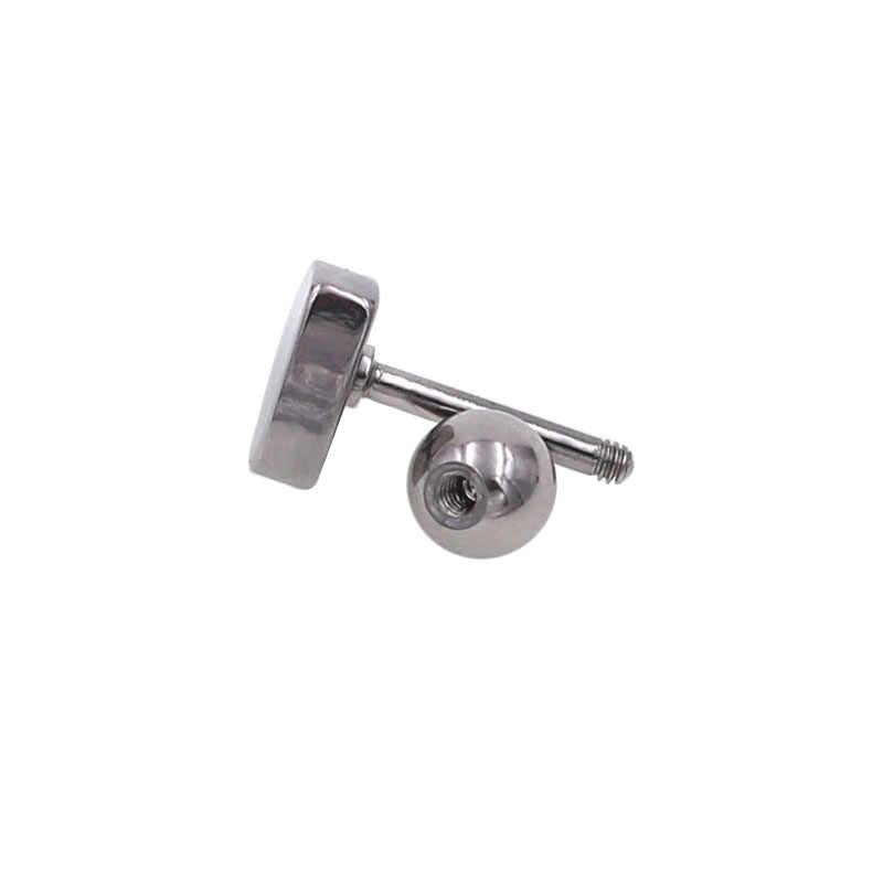 Cheap New 2pcs/bag Silver Gold color Heart Cartilage Earring Helix ear Piercing Top Upper Earrings Body For Women & Men Jewelry