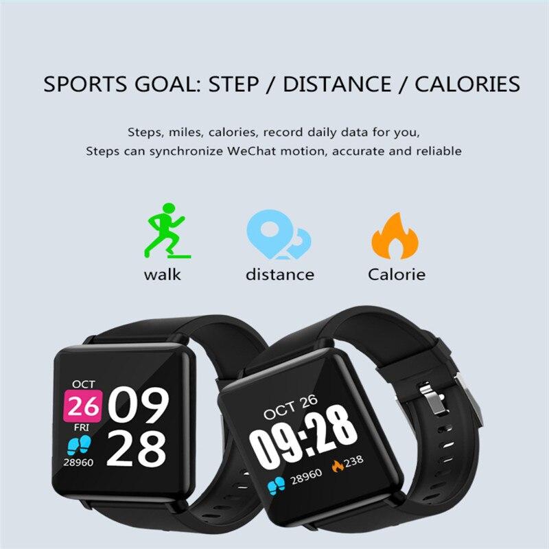 Fitness & Bodybuilding C1pro Smart Sport Schrittzähler Fitness Uhr Blutdruck/sauerstoff Herz Rate Tracker Outdoor Schritt Für übung Armband Schrittzähler
