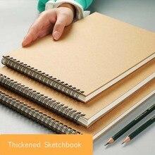 Bgln A3/A4/A5 30 листов эскиз книга для рисования Профессиональный Крупный рогатый скот карты эскиз бумага книжные школьные принадлежности канцелярские принадлежности