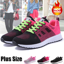 Women Casual Shoes Fashion Breathable Walking Mesh Flat Shoes Sneakers Women 2019 Gym Vulcanized Tenis Feminino 2018 new women sneakers vulcanized shoes ladies letter casual shoes breathable walking mesh flat shoes tenis feminino
