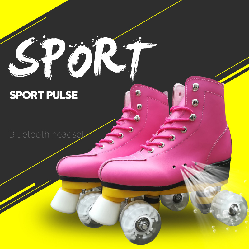 6 Color New Adult Double-row roller skates Four-wheel skates Adult Men and women outdoor Skates shoes6 Color New Adult Double-row roller skates Four-wheel skates Adult Men and women outdoor Skates shoes