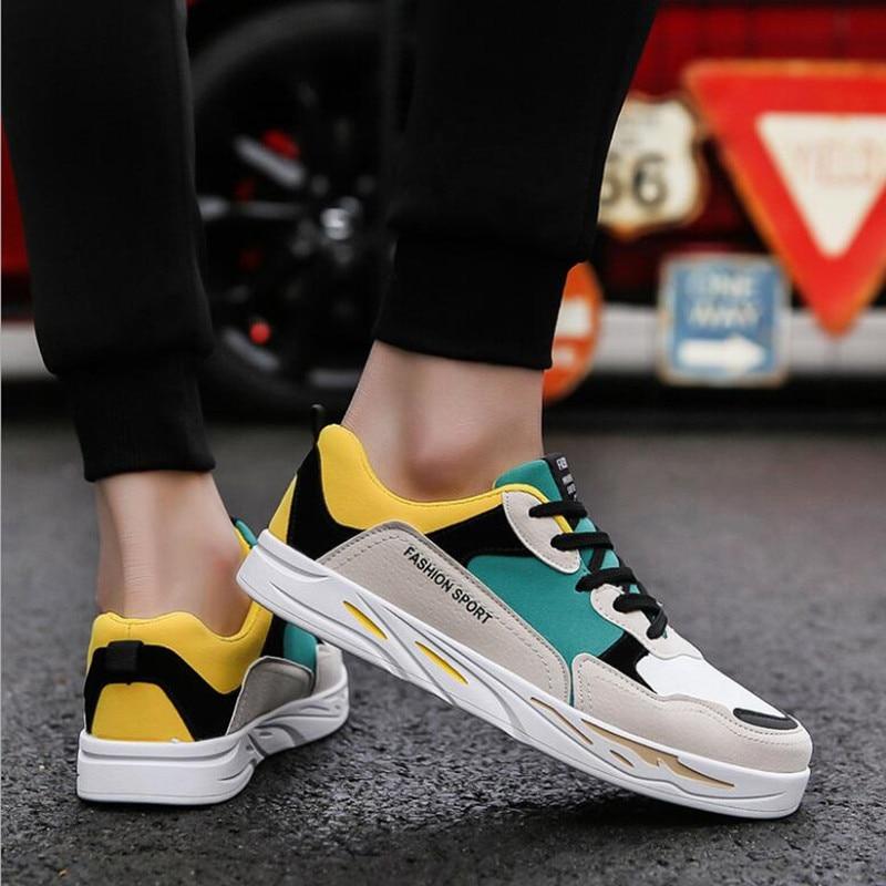 2018 스프링 보드 신발 한국어 버전 여러 가지 빛깔의 - 남성용 신발 - 사진 2