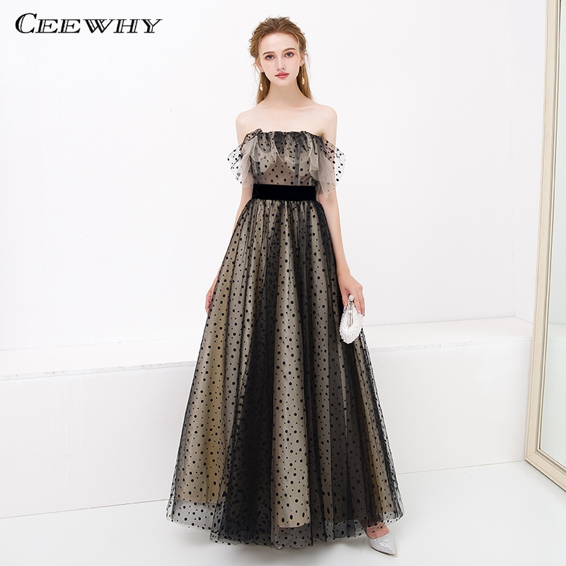 CEEWHY OFF Shoulder Prom Dresses Long Dresses Evening Gown Plus Size  Evening Dress Vestidos de Festa Abiye Gece Elbisesi-in Evening Dresses from  Weddings ... 280916007eac