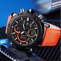 SMAEL Элитный бренд Для мужчин аналоговый цифровой кожа 2018 спортивные часы Для Мужчин Армия Военные часы человек кварцевые часы Relogio Masculino