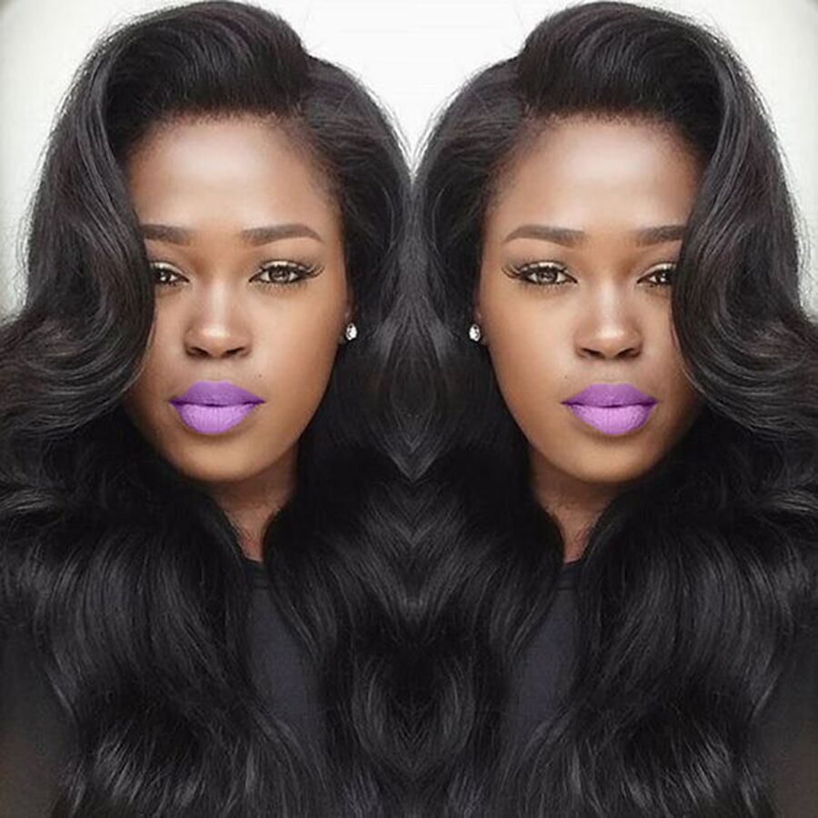 Full Lace Human Hair Wigs With Baby Hair Brazilian Body Wave Lace Front Human Hair Wigs For Black Women 360 Lace Frontal Wigs