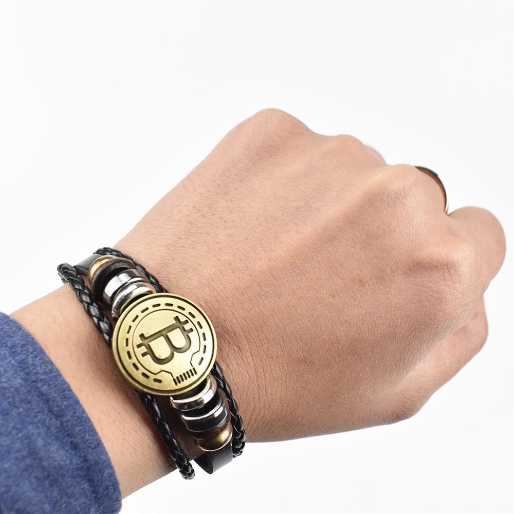 Bitcoin Antique Bracelet
