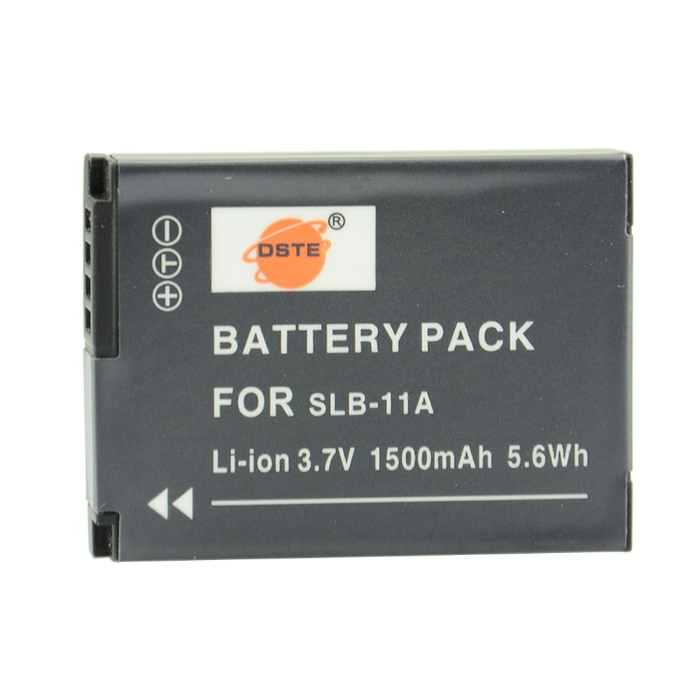 DSTE SLB-11A Rechargeable Battery for Samsung WB1000 WB5000 CL65 CL80 HZ25W ST1000 ST5000 ST5500 TL240 TL320 CameraDSTE SLB-11A Rechargeable Battery for Samsung WB1000 WB5000 CL65 CL80 HZ25W ST1000 ST5000 ST5500 TL240 TL320 Camera