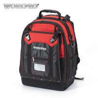 WORKPRO nouvel outil sac à dos Tradesman organisateur sac étanche outils sacs multifonction sac à dos avec 37 poches